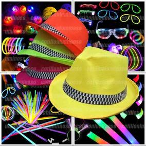 3e7346daed079 10 Gorros Fluorescentes Cotillon Luminoso - Cotillón en Mercado ...