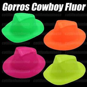 60abfe7ece710 Gorros Plasticos Cowboy Fluor - Disfraces y Cotillón en Mercado ...