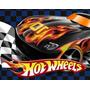 Kit Imprimible Hot Wheels Cumpleaños Tarjetas + Candy Bar