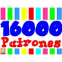 Kit Imprimible 16000 Patrones Tarjetas Cajas Marcos Fondos
