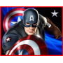 Kit Imprimible 2capitan America Diseñá Tarjetas Invitaciones