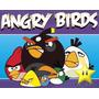 Kit Imprimible 2 Angry Birds Diseñá Tarjetas, Cumples Y Mas