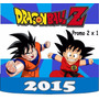 2x1 Kit Imprimible Dragon Ball Z Invitaciones, Tarjeta Mas