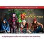 Kit Imprimible Descendientes Disney Tarjetas Cumpleaños