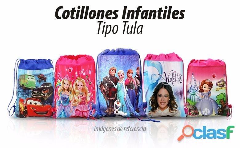 d7e57763a Cotillones Cumpleaños Bolsos Para Fiestas Eventos Para Niños - Bs. 4.500,00  en Mercado Libre