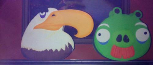 cotillones de angry birds en foami
