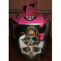 Monster High Hembra Varon Cotillon Caja Exagonal Infantil