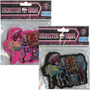 Borra Jumbo Importada De Monster High En Negro Y Fuscia