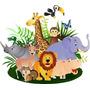 Kit Imprimible Safari Baby Shower