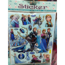 Sticker Calcomanias Frozen Bajoterra Sofia Transformer