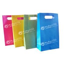 Bolsas De Papel De Colores, Cotillón, Paquete 10 Unidades