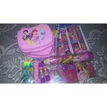 Combo Para Cotillon Infantil De Niña Barbie Y Princesas