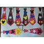 Corbatas De Mickey Mouse En Foamii Para Sus Fiestas