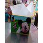 Cotillones Mdf Cajas Mickey La Casa De Mickey 12cmx12cm