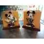 Cotillones Mdf Cajas Mickey Minnie Safari 12cmx12cm