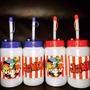 Coolers Con Pitillo Cotillones Infantiles Cotillones Fiestas