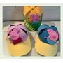Gorras Foami Para Fiestas, Peppa Pig, Minions, Mickey,