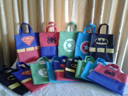 cotillones súper (superman,batman, entre otros)
