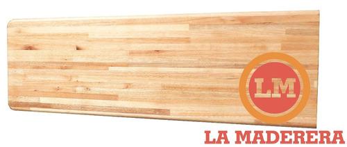 cotización barra mesada mesa madera a medida baño cocina
