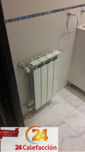 cotizacion obras calefaccion por radiadores y piso radiante