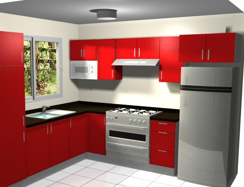Cotizacion y dise o de cocinas por computadora en 3d for Muebles para cocina baratos