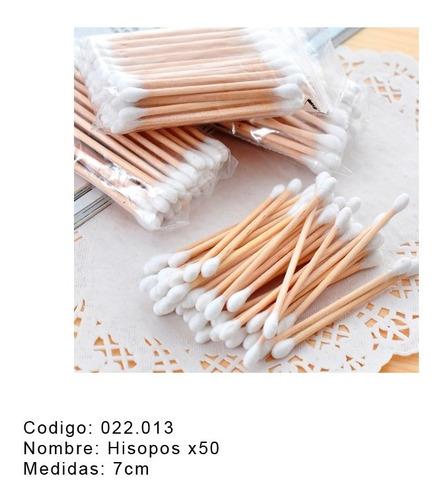 cotonetes madera x 50
