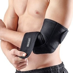 cotoveleira neoprene para tendinite epicondilite ajustável