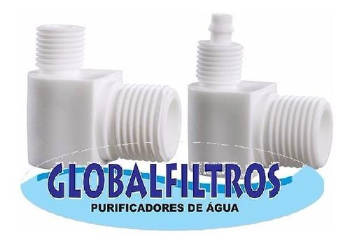 cotovelo manutenção filtro purificador água hoken pentair