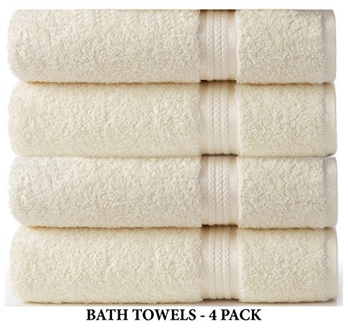 cotton craft 4 pack ultra soft extra grande toallas extra gr