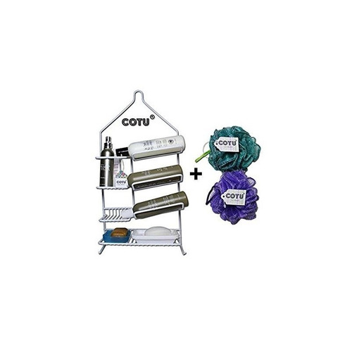 cotu gravity powered shower caddy w estantes  + envio gratis