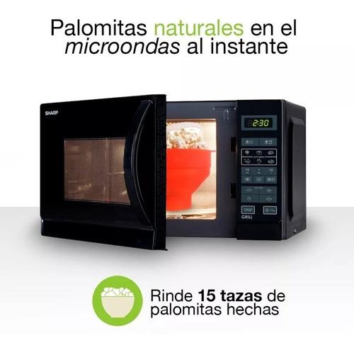 cotufera microondas silicón palomitera sin aceite dieta