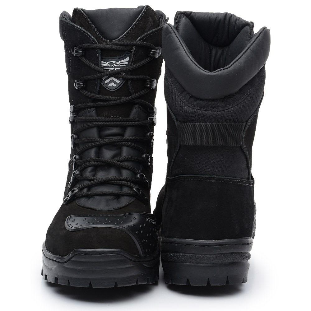 6961b9280f Carregando zoom... bota masculina coturno cano médio militar couro acero dhl