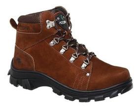 b967680912 Bota Adventure Accona Em Couro Legítimo 6000 - Sapatos com o Melhores  Preços no Mercado Livre Brasil