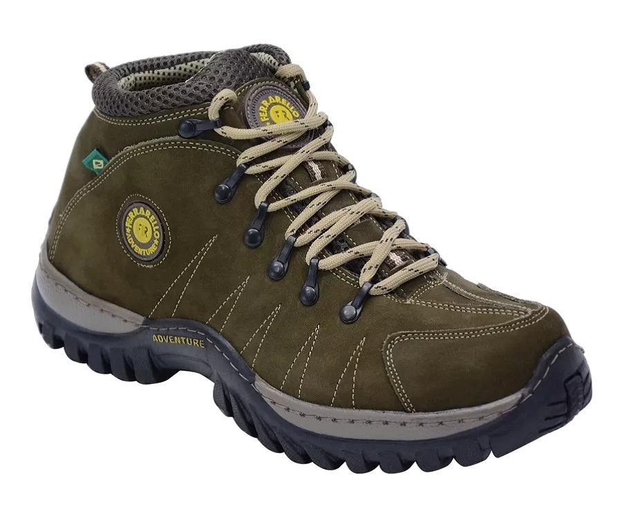 9c18e9939f coturno adventure bota trekking masculino em couro legitimo. Carregando zoom .