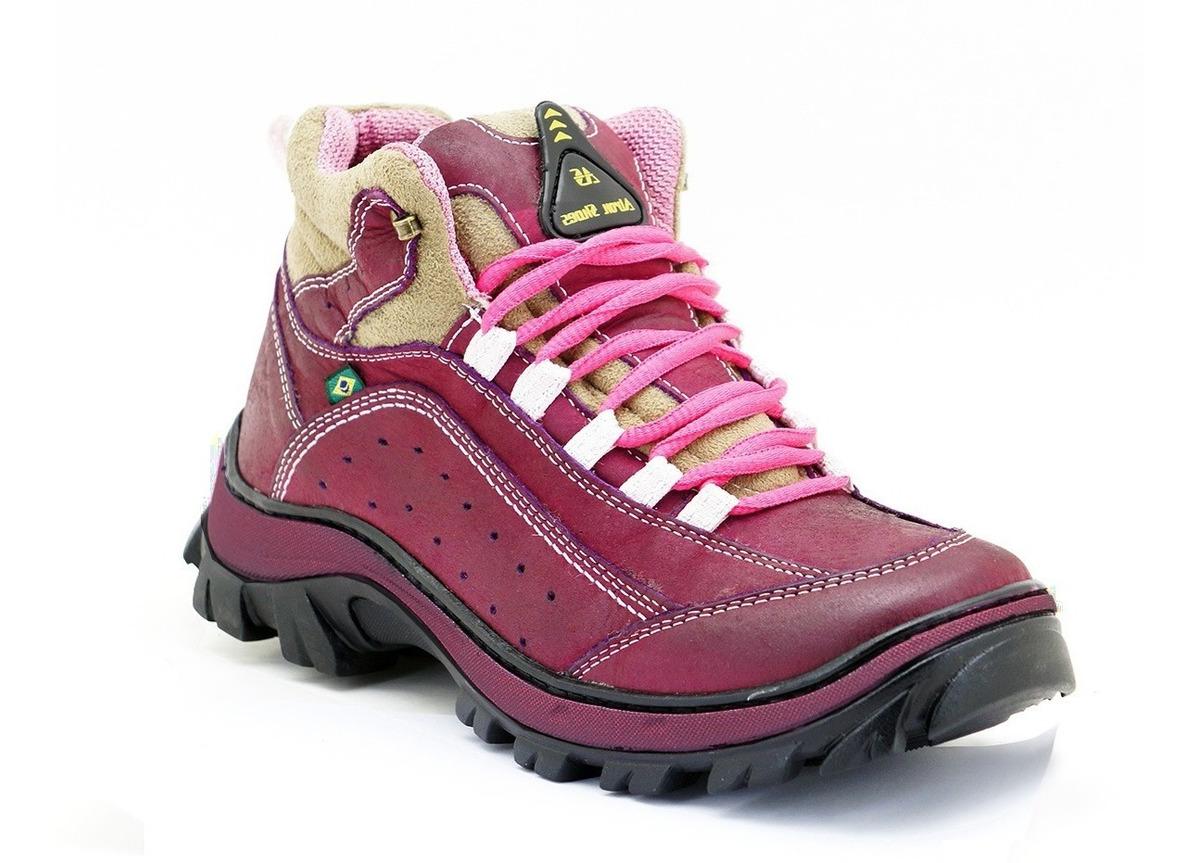 df3ae0131c5db coturno adventure feminino bota trekking trilha mochileiras. Carregando  zoom.
