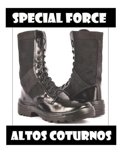coturno atalaia - special force - ultra leve - sem zíper