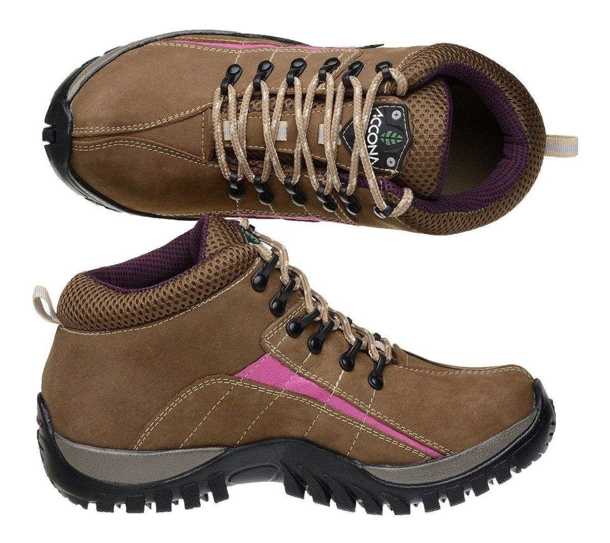 31e91a5f5 Coturno Boot Adventure Feminino Couro Nobuck - R$ 120,99 em Mercado ...