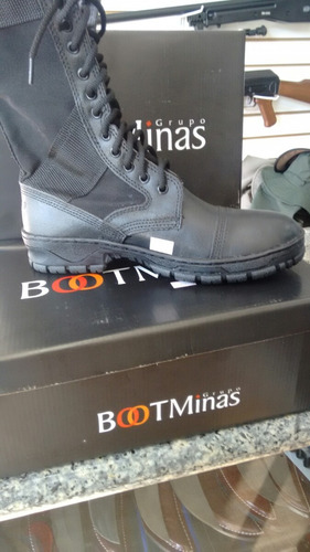 coturno boot minas