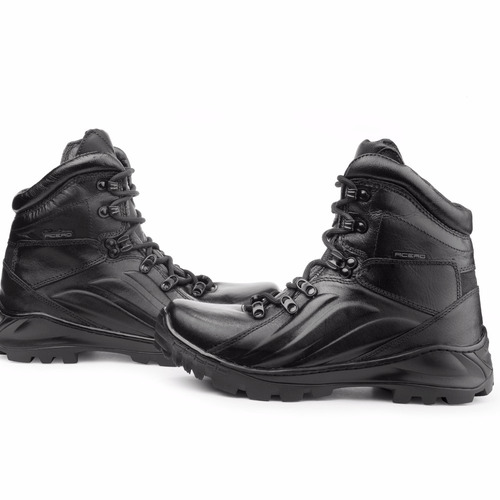coturno bota acero masculino segurança  militar tático rocam