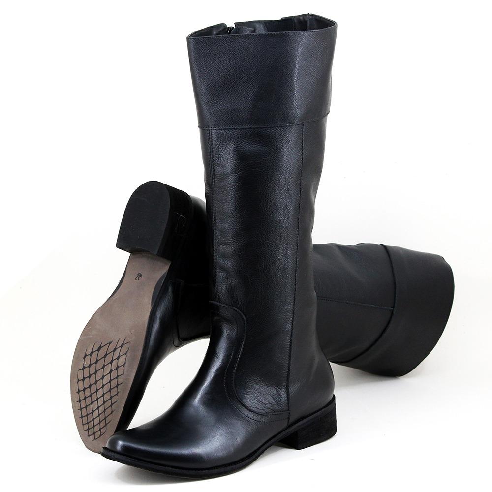 7d74a143b coturno bota botinha feminina couro legítimo cano alto. Carregando zoom.