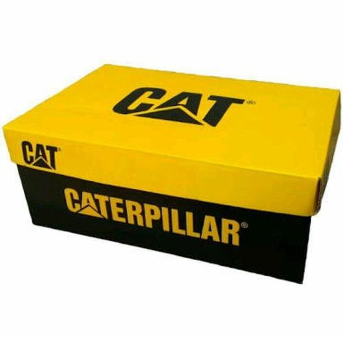 coturno bota caterpillar couro original lançamento + cinto