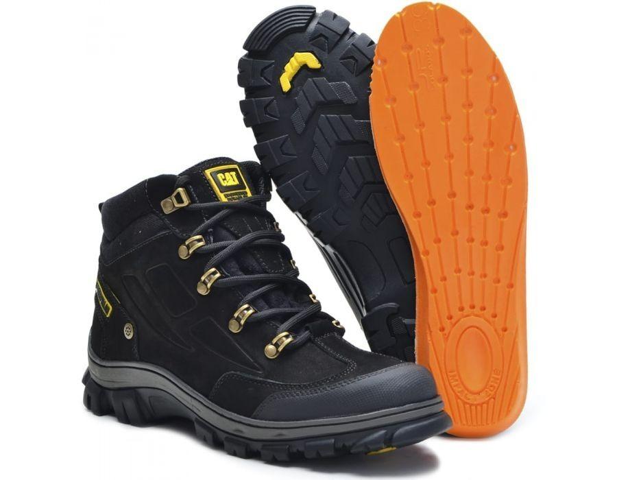 ca6ef2753d coturno bota caterpillar sapato masculino em couro 2065. Carregando zoom.