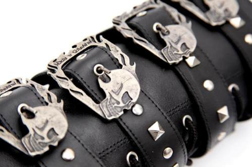 coturno bota couro legítimo 6520 munhequeira moto rock