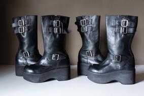 3ef9ca8cbb Coturno   Bota Feminina  Vilela Boots   Shoes - Promoção!