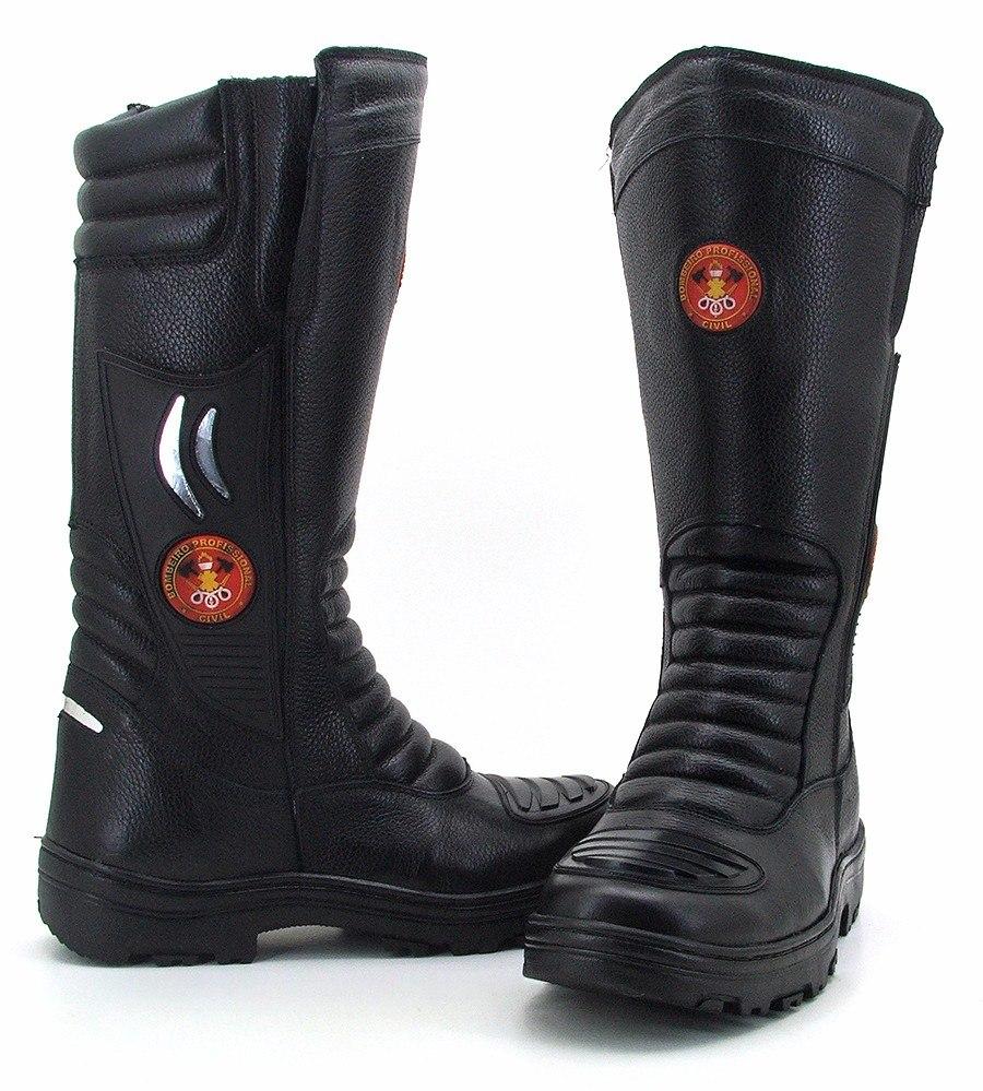 cb264365365a1 ... coturno bombeiro samu resgate couro promoção bota feminino. Carregando  zoom... coturno bota ...