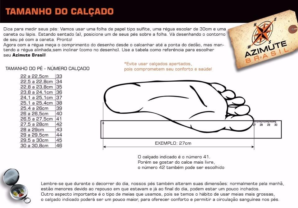 1e88dc05c Coturno Bota Masculina Azimute Brasil Em Couro 910 - R$ 179,00 em ...