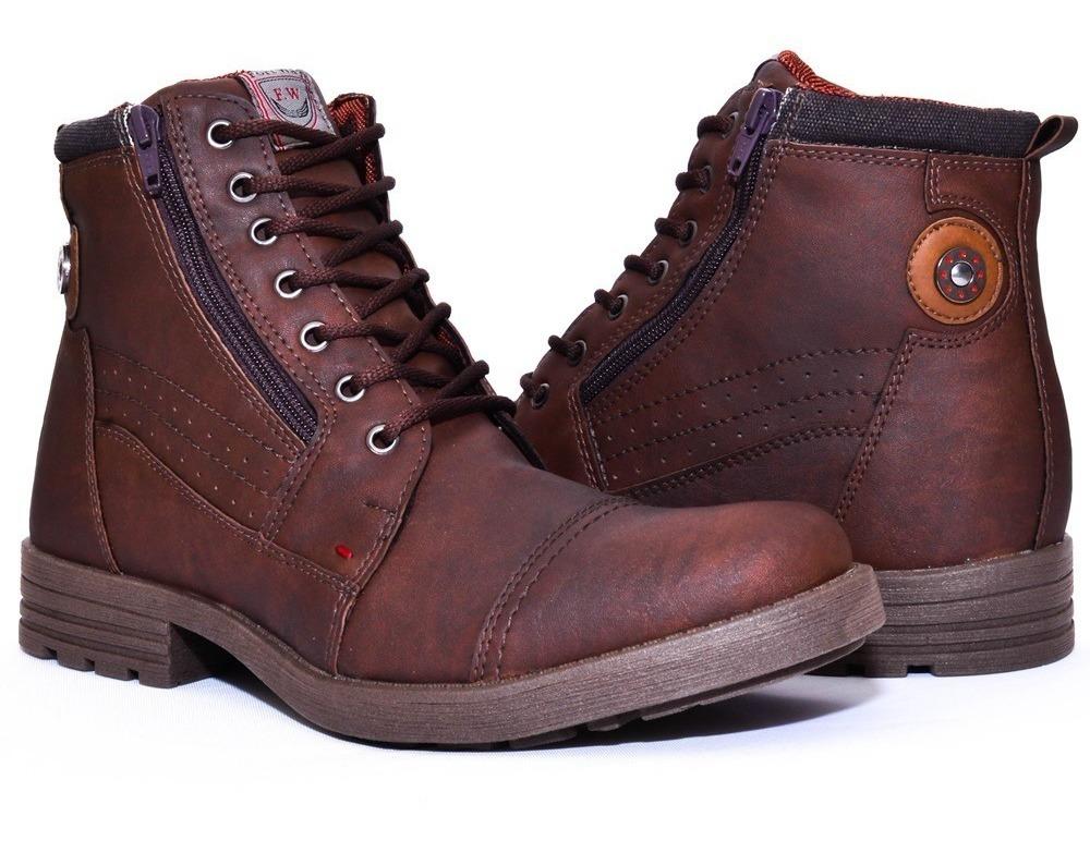 641ff17348 coturno bota masculina casual leve fashion promoção. Carregando zoom.