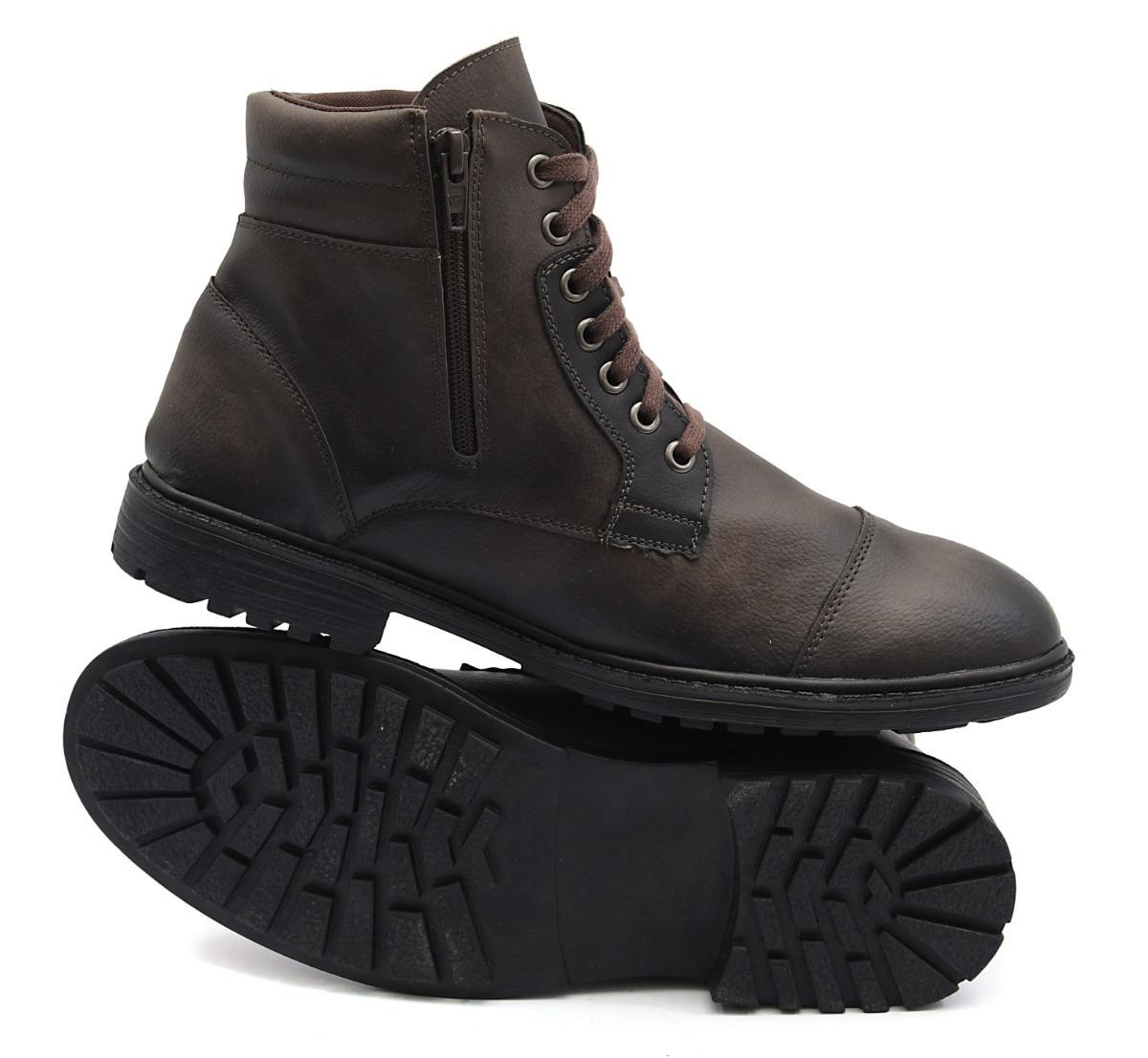 0f4ce8a1a4 coturno bota masculino confortável casual macio leve top. Carregando zoom.