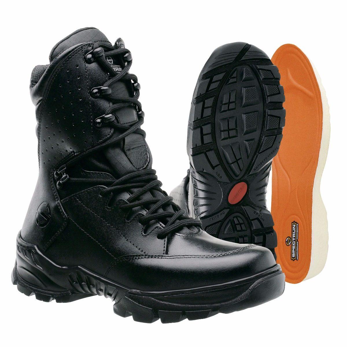 28bf2fff824 coturno bota militar tática airsoft policial spectrun boots. Carregando zoom .