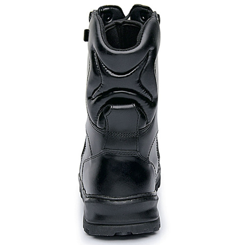coturno bota rossi sniper dois zipers couro+ canivete brinde